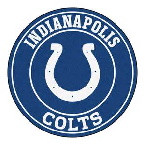 indianapolis colts nfl 27 quot roundel area rug floor mat