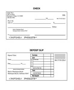 Quickbooks Deposit Slip Template by Checking Deposit Slip Template Discount Printable Deposit