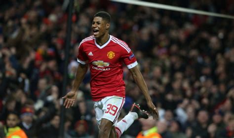 incredible marcus rashfords  goals  man united debut