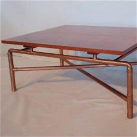 Copper Pipe Table by Copper Pipe Coffee Table Own Thrillist Boston