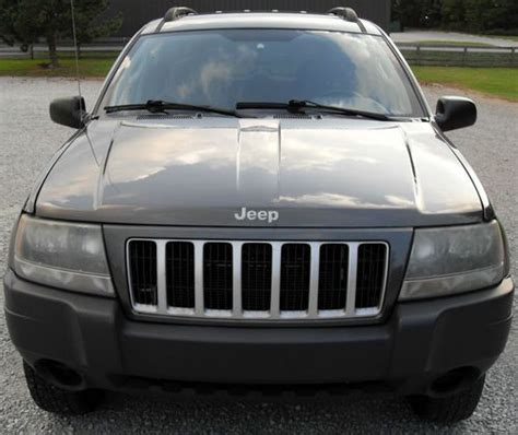 charcoal grey jeep grand cherokee purchase used 2004 jeep grand cherokee laredo sport