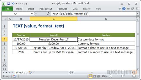 format excel as text how to use the excel text function exceljet