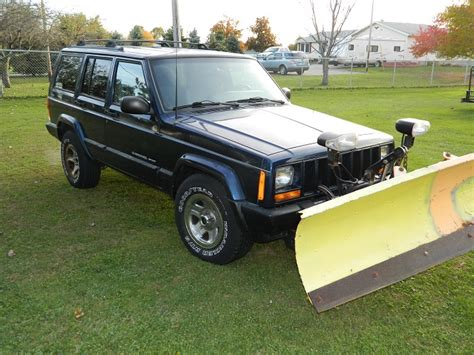Jeep With Snow Plow For Sale For Sale 2001 Jeep Sport 4x4 4l Six Cyl Meyers