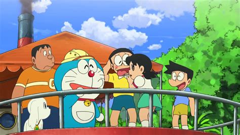 doraemon movie us doraemon the movie nobita the explorer bow bow hindi