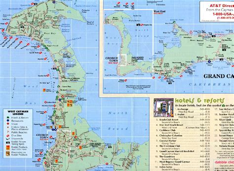 grand cayman map georgetown grand cayman map