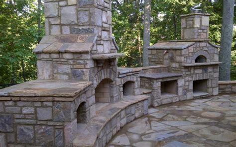 Brick Outdoor Kitchen Pics - outdoor kitchens masonry indoor