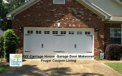 Do It Yourself Garages by Diy Garage Door Makeover Easy Chep And Affordable