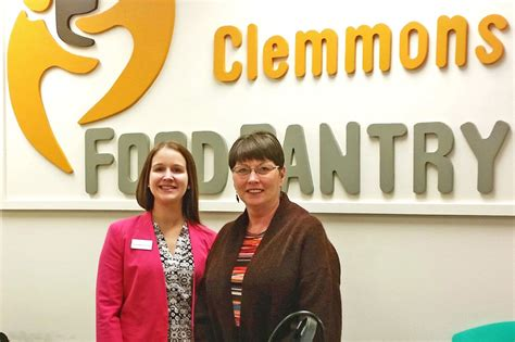 Clemmons Food Pantry by Forsyth Family 187 A Difference Truliant Federal