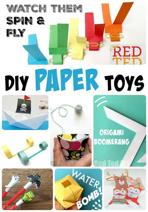 How Make Paper Toys - diy paper toys here 12 fantastic paper toys the