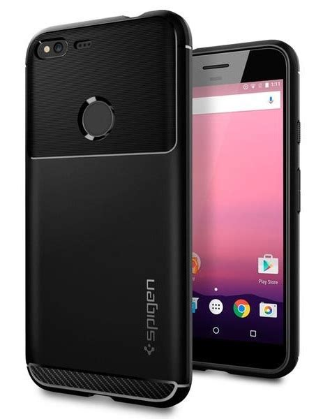 Spigen Pixel 2 Xl Rugged Armor Black Original spigen pixel xl rugged armor images at mighty ape nz