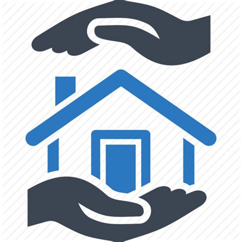 real house insurance home insurance house protection real estate icon icon