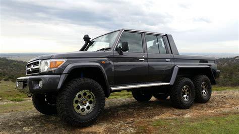 Toyota 6x6 Multidrive Manufacturer Geelong Custom Built