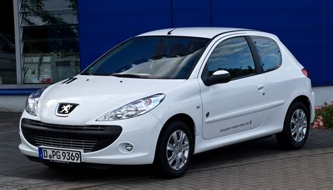 What Is A Peugeot File Peugeot 206 60 Generation Frontansicht 8 Juli