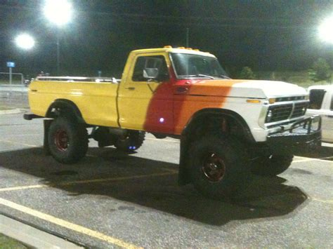 mud truck for sale 1975 ford f 250 highboy 75 truck mud truck for sale