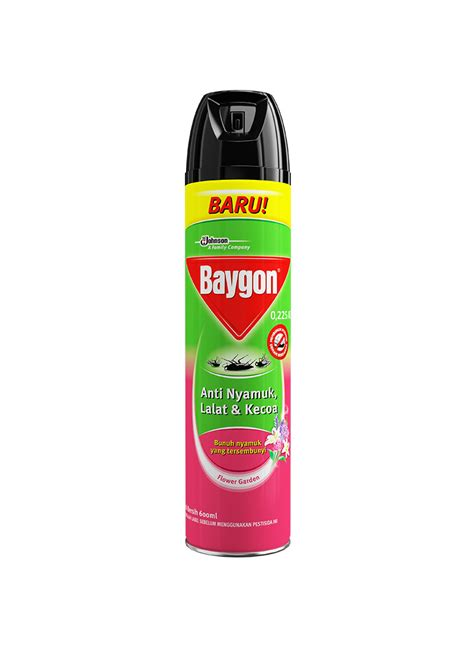 baygon insektisida spray flower garden klg 600ml