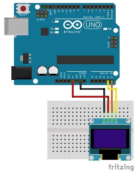 tutorial arduino i2c image gallery ssd1306 arduino