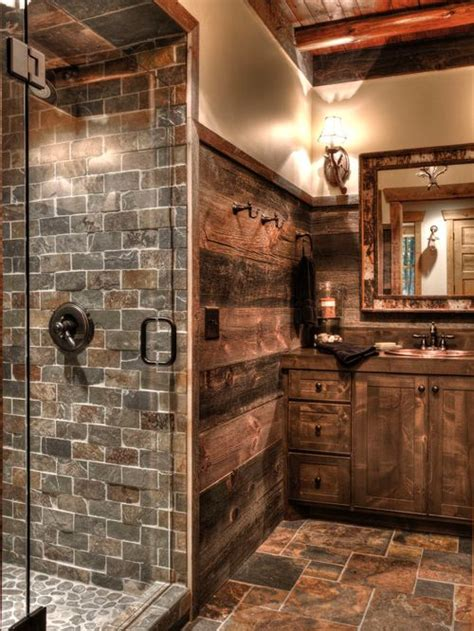 rustic bathrooms rustic bathroom design ideas remodels photos
