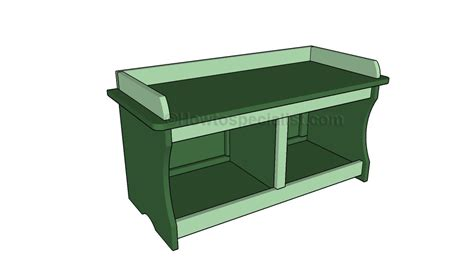 building a storage bench storage bench plans howtospecialist how to build step