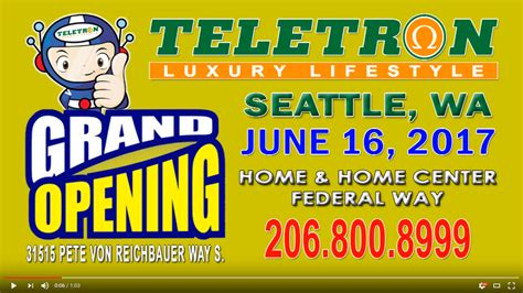 teletron seattle opening concert