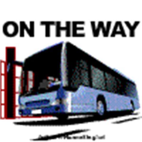 download gambar on the way dp bbm on the way gambar animasi bus wisata liburan