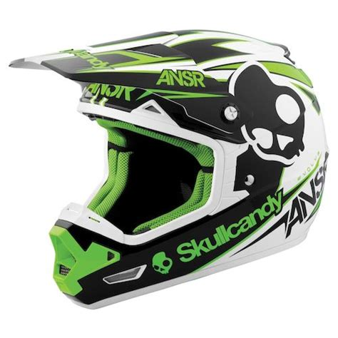 skullcandy motocross gear answer evolve skullcandy iii helmet revzilla