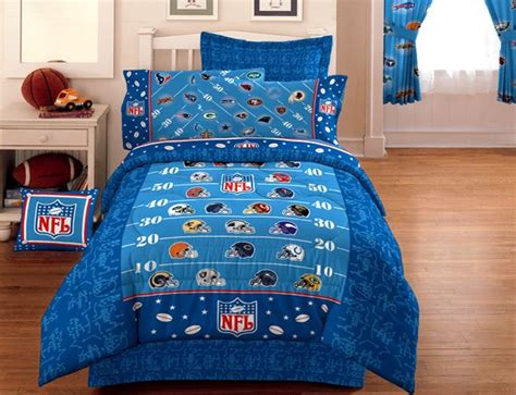 nfl bedding nfl football on the field bedding comforter twin