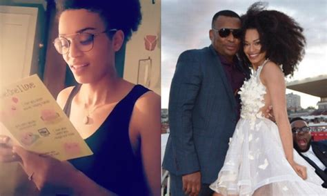 pearl thusi wedding photos zululoveletter robert marawa sent zulu love letter to
