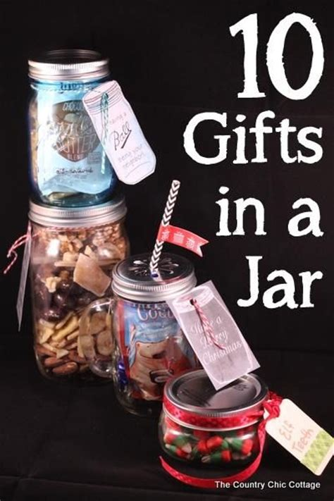 15 ideas to prepare a gift under 10 pretty designs