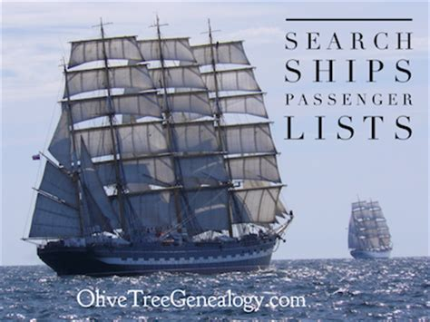 Immigration Search By Name Olive Tree Genealogy Library Archives Canada New