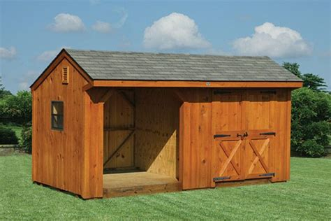10x18 Shed by Windy Hill Sheds Storage Barns