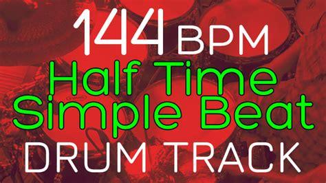 80 bpm shuffle beat drum track half time simple beat 144 bpm drums tracker