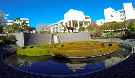 the getty center is educational and free