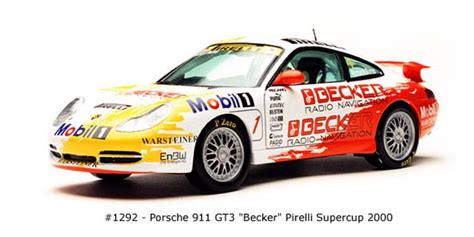 Diecast Sunstar 1 18 1291 Porsche 911 Gt3 Teldafax No 25 sun 2000 porsche 911 gt3 becker 1292 in 1 18 scale