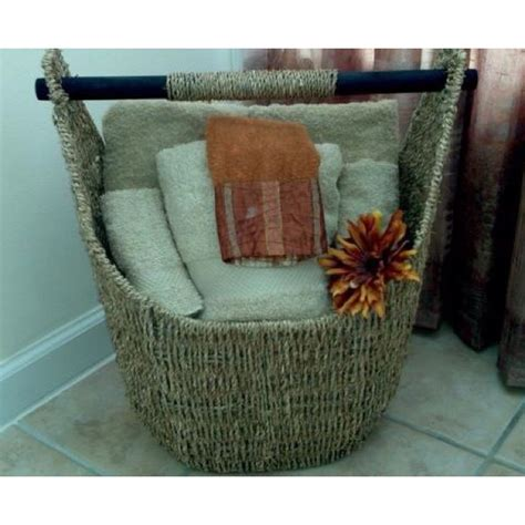 basket for towels in bathroom half bath towel basket thirty one usage ideas pinterest