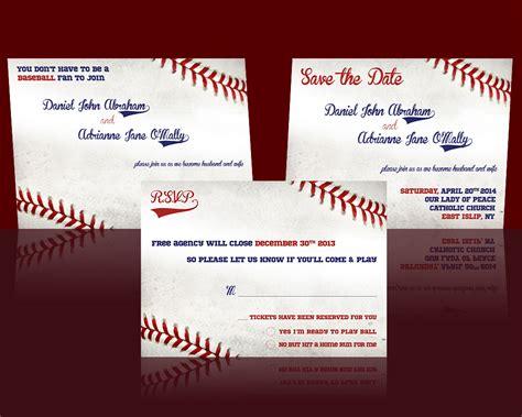 wedding invitation design etsy baseball wedding invitation design from etsy by