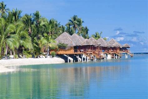 bungalow water thailand cook islands overwater bungalows