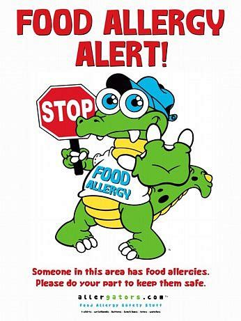 printable allergy alert poster stopgator food allergy alert poster emergency medical