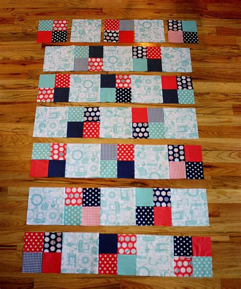 Quilt Squares Fast Four Patch Quilt Tutorial Diary Of A Quilter A