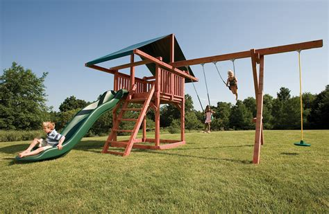 swing sets for children wood swingsets for kids opening act