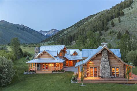 lo splendido ranch tra le montagne dell idaho di steve