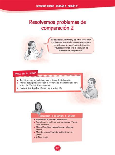 problemas para 2 de primaria slideshare newhairstylesformen2014com documentos primaria sesiones unidad06 segundo grado