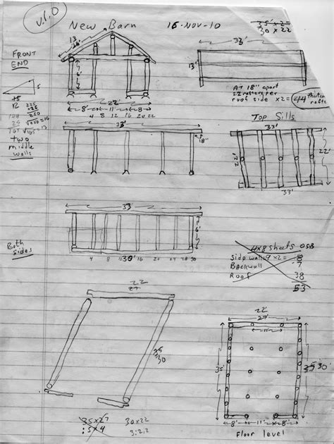 Pole Barn Plans building techniques
