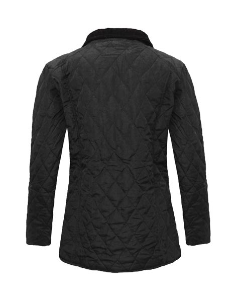 Quilted Jacket Womens Plus Size by Womens Sleeve Quilted Padded Button Zip Top