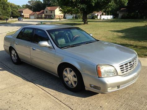 sell used 2004 cadillac deville dts sedan 4 door 4 6l in fishers indiana united states for us