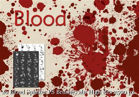 Blood Pattern Brush Photoshop | blood splatter brushes free photoshop brushes at brusheezy
