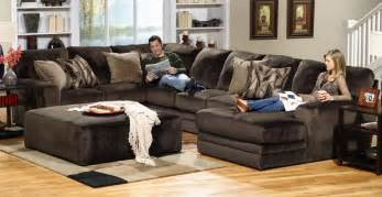 Jackson Everest Customizable Sectional Sofa Set B   Chocolate JF Everest Set B at Homelement.com