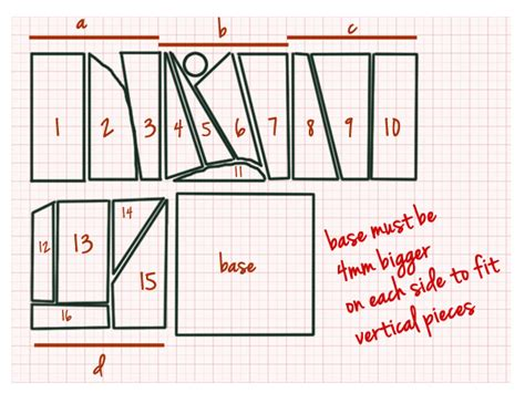 Votive Card Template by Stained Glass Candle Holder And Basic Steps For Copper