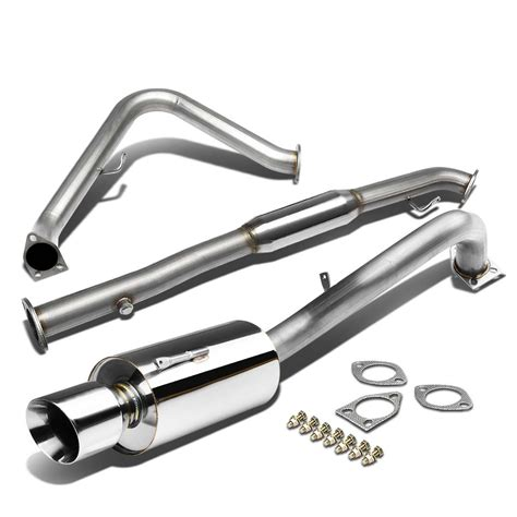 mitsubishi eclipse exhaust system 00 05 mitsubishi eclipse rs gs 2 4l performance catback