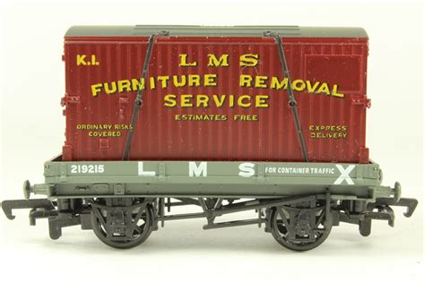 Furniture Removal Services by Hattons Co Uk Mainline 37433 1 Plank Wagon In Lms Livery