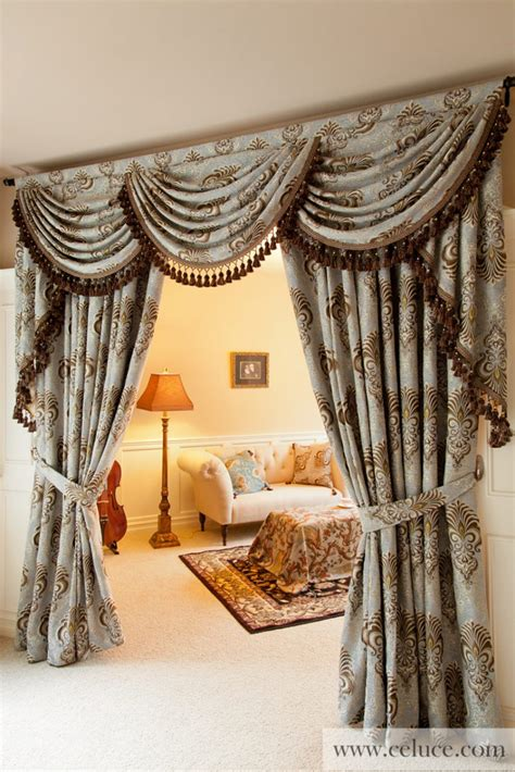 custom drapery valances uniquecurtains custom curtain design household ideas
